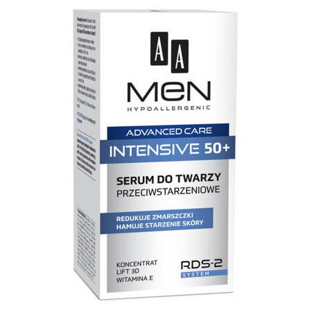 AA Men Advanced Care 50+ serum do twarzy przeciwstarzeniowe 50ml