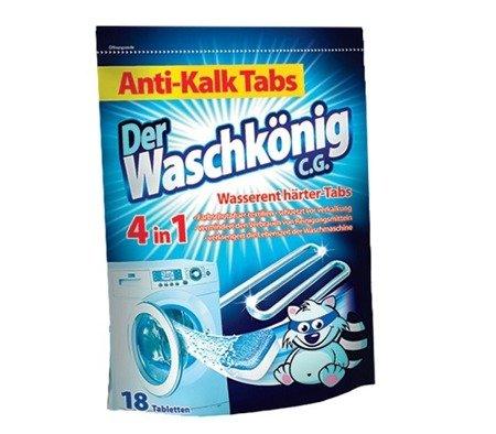 Der Waschkonig C.G. Tabletki odkamieniające do pralki 18szt.