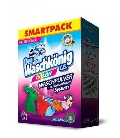 Der Waschkonig C.G. proszek do prania Color 375g 5 prań