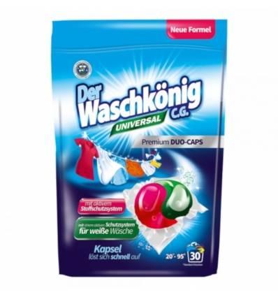 Der Waschkonig kapsułki do prania uniwersal DUO 30 szt