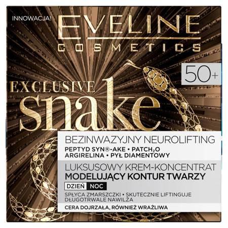 Eveline Exclusive Snake 50+ Krem modelujący kontur twarzy 50ml
