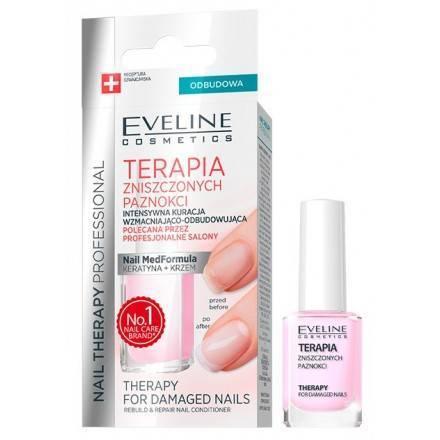 Eveline REPAIR Odżywka do paznokci KERATYNA+KRZEM 12ml