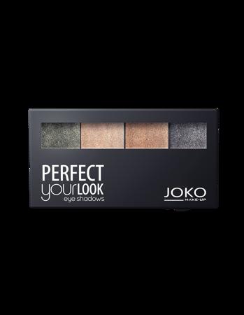 JOKO Cienie prasowane do powiek QUATTRO PERFECT YOUR LOOK 403