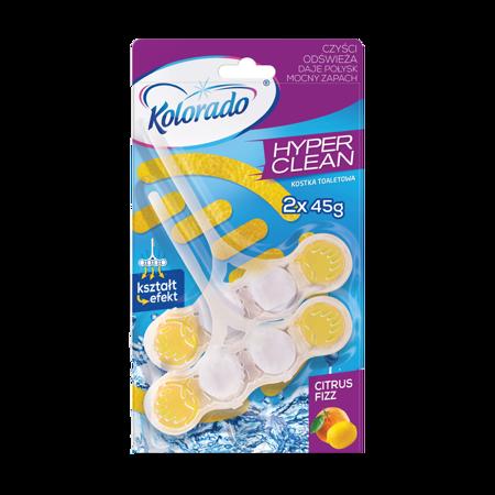 Kolorado Hyper Clean Duopack 2x45g kostka WC Citrus Fizz