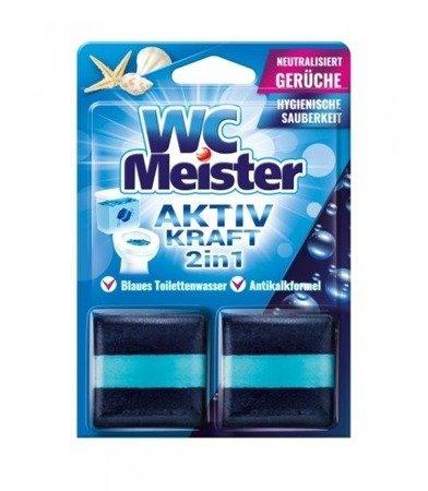 Kostka barwiąca do spłuczki WC Meister - morska