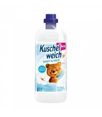 Kuschelweich Sanft&Mild płyn do płukania 1 L-31 WL