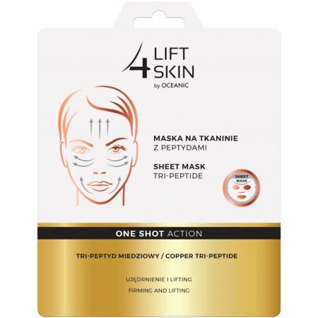 Lift4Skin Maska na tkaninie z peptydami One Shot Action