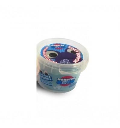 Monster Bath Ciastolina mydło do kąpieli niebieskie-guma balonowa
