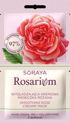 Soraya Rosarium Wygładzająca kremowa maseczka różana