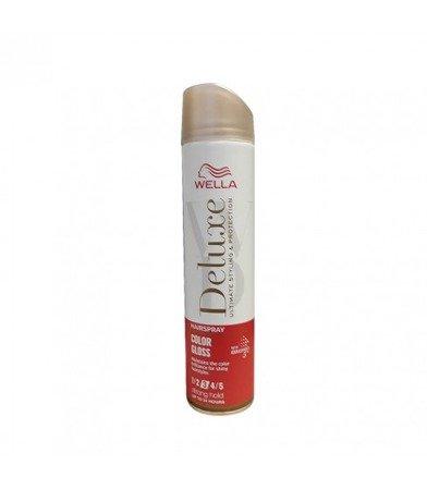 Wella Deluxe Color Gloss Hold 3 lakier do włosów 250 ml